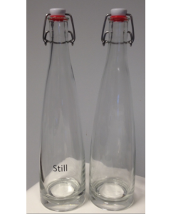 75cl Coyote Glass Bottle inc Latch (Plain)