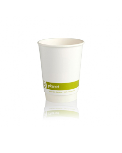 8oz Double Wall 'Planet' PLA Compostable Cups (500)