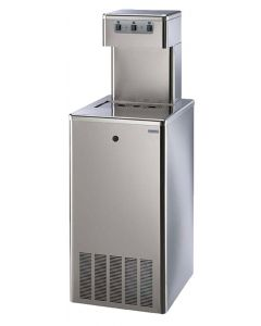 Cosmetal Niagara 180 SL WG Stainless Steel Water Cooler Cold, Ambient and Sparkling Electronic Control