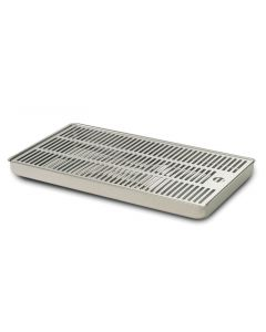 Cosmetal Stainless Drip Tray with drainage (J Class IN/Niagara IN)