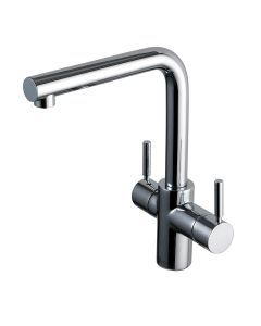 InSinkErator 3N1 Hot And Cold Tap Brushed Finish
