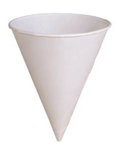 4oz Paper Cones (Box of 5000)